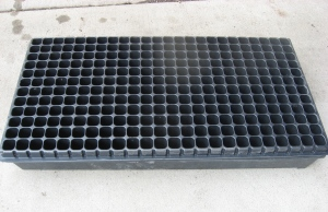 Seedling tray supports I